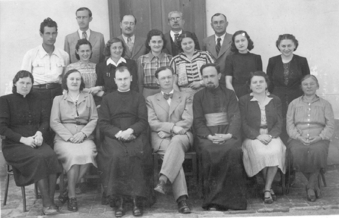 A bácsföldvári tantestület